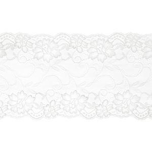 PartyDeco Krajka bílá 0,18 x 9 m