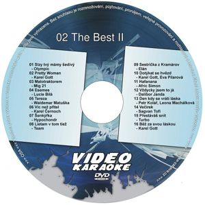 The Best II DVD kompilace
