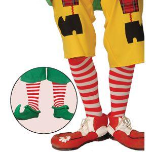 Guirca Červeno-bílé ponožky