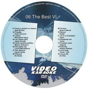 The Best VI DVD kompilace
