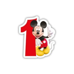 Procos Narozeninová svíčka Mickey Mouse - číslo 1