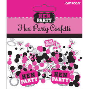 Amscan Konfety Hen Night Party 14 g