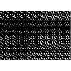 PartyDeco Balící papír černo-bílý mix Barva: Černo-bílý s puntíky
