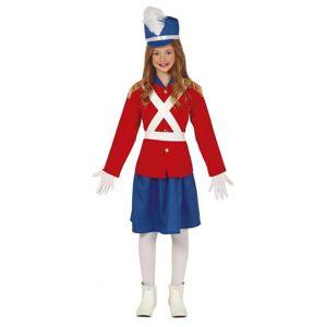 Guirca Dětský kostým - Cínový vojáček dívka Velikost - Děti: M
