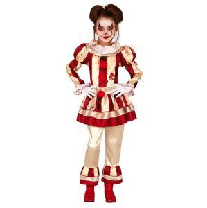 Guirca Dětský kostým - Hororový Klaun dívka Velikost - Děti: L