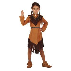 Guirca Dětský kostým - Indiánka Velikost - Děti: L