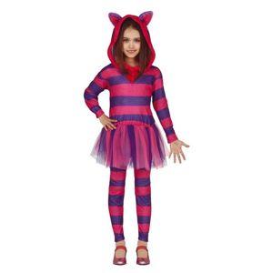 Guirca Dětský kostým - Kočka fialová Velikost - Děti: XL