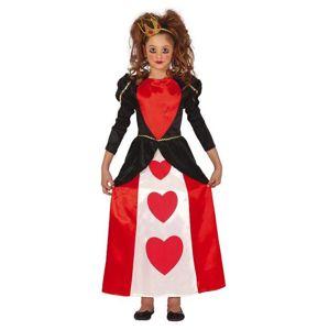 Guirca Dětský kostým - Srdeční Královna Velikost - Děti: XL