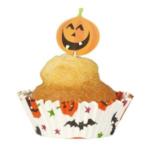 Guirca Halloweenskej muffin set 24 ks
