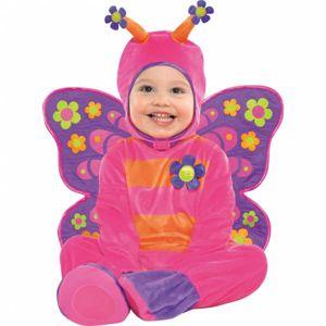 Amscan Kostým pro nejmenší - Květovaný motýlek Velikost: 6 - 12 měsíců