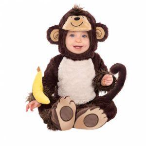 Amscan Kostým pro nejmenší - Opička Velikost: 12 - 18 měsíců