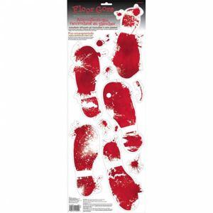 Amscan Nálepky na podlahu - Krvavé stopy bot