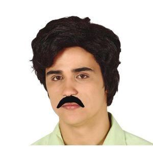 Guirca Paruka s knírkem Pablo Escobar