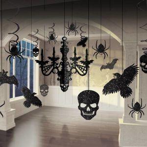 Amscan Set papírových visících dekorací - Flitrovaný lustr