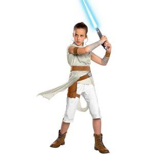 Rubies Dětský deluxe kostým - Rey (Star wars) Velikost - Děti: S