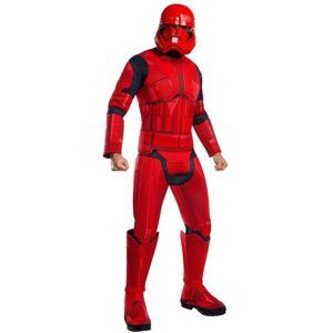 Rubies Pánský deluxe kostým - Red Stormtrooper (Star wars) Velikost - dospělý: STD
