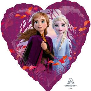 Amscan Fóliový balón - Frozen 2 (srdce)