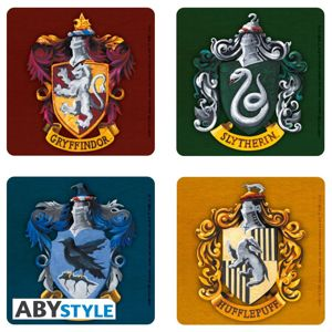 ABY style Podtácky Harry Potter (4 ks)