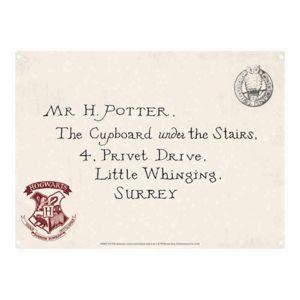 Half Moon Bay Plechová cedule Harry Potter - Letters