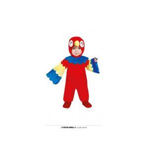 Guirca Dětský kostým pro nejmenší - Papoušek Velikost nejmenší: 12 - 24 měsíců