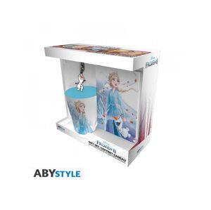ABY style Sada hrnek, klíčenka a zápisník Elsa - Frozen / Ledové království