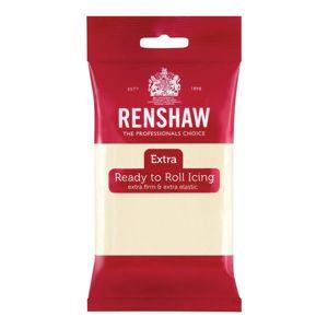 Krémová potahovací hmota - rolovaný fondán čokoládová příchuť Ivory Renshaw 250 g
