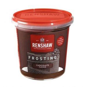 Hotový čokoládový krém na zdobení Renshaw Frosting Chocolate Flavour 400 g