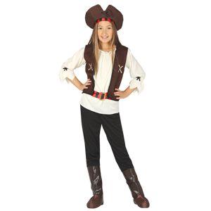 Guirca Pirátka - kostým Velikost - Děti: M
