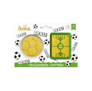 Decora Sada vykrajovátek - Fotbal