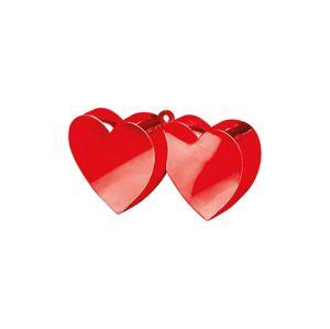 Amscan Závaží na balóny Srdce červené