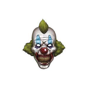 PartyDeco Maska Strašidelný klaun